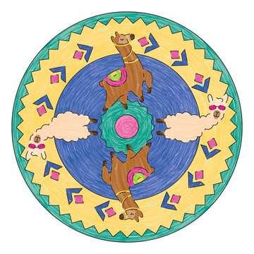Mandala  - midi - Lama Loisirs créatifs;Dessin - Image 5 - Ravensburger