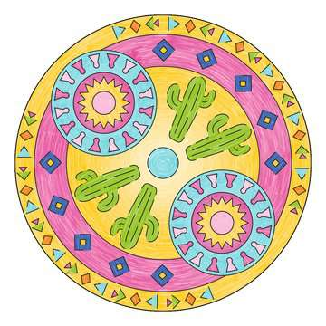 Mandala  - midi - Lama Loisirs créatifs;Dessin - Image 6 - Ravensburger