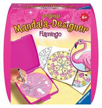 Mandala - mini - Flamingo Loisirs créatifs;Dessin - Image 1 - Ravensburger