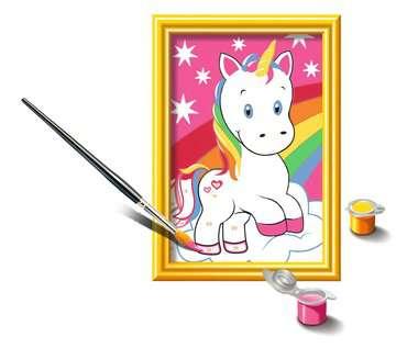Numéro d art - mini - Adorable licorne Loisirs créatifs;Peinture - Numéro d'Art - Image 3 - Ravensburger