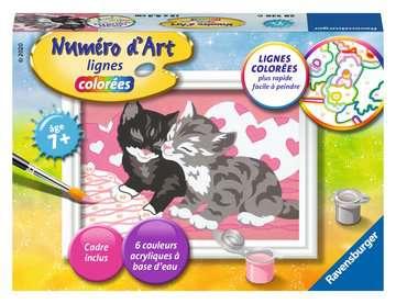 Numéro d art - mini - Adorables chatons Loisirs créatifs;Peinture - Numéro d'Art - Image 1 - Ravensburger