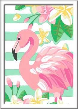 Numéro d art - petit - Flamant rose Loisirs créatifs;Peinture - Numéro d'Art - Image 2 - Ravensburger