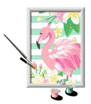 Numéro d art - petit - Flamant rose Loisirs créatifs;Peinture - Numéro d Art - Image 3 - Ravensburger
