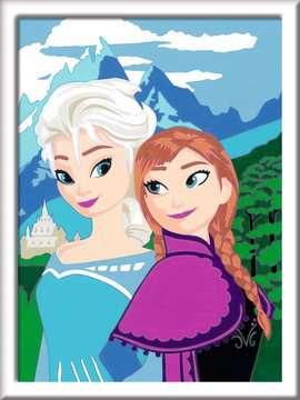 Elsa und Anna Malen und Basteln;Malen nach Zahlen - Bild 2 - Ravensburger