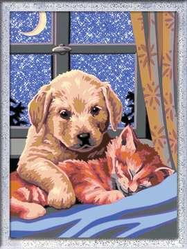 Numéro d art - moyen - Bonne nuit ! Loisirs créatifs;Peinture - Numéro d'Art - Image 2 - Ravensburger