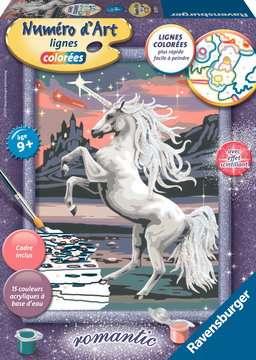 Numéro d art - moyen - Majestueuse licorne Loisirs créatifs;Peinture - Numéro d'Art - Image 1 - Ravensburger