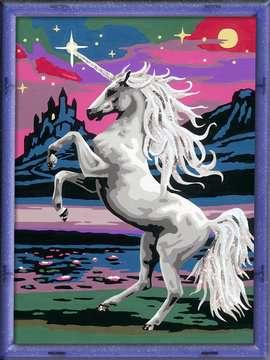Numéro d art - moyen - Majestueuse licorne Loisirs créatifs;Peinture - Numéro d'Art - Image 2 - Ravensburger