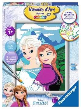 Numéro d art - moyen - Elsa et Anna /La Reine des Neiges, Disney Loisirs créatifs;Peinture - Numéro d'Art - Image 1 - Ravensburger