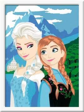 Numéro d art - moyen - Elsa et Anna /La Reine des Neiges, Disney Loisirs créatifs;Peinture - Numéro d'Art - Image 2 - Ravensburger