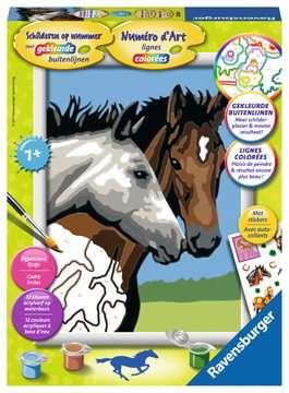 Paardenvriendschap Hobby;Schilderen op nummer - image 1 - Ravensburger