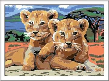 Kleine Löwenbabys Malen und Basteln;Malen nach Zahlen - Bild 2 - Ravensburger