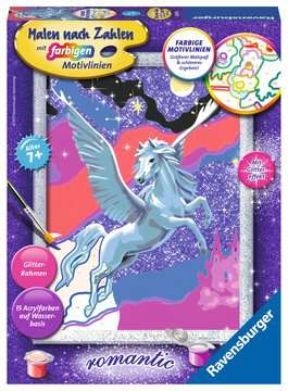 28641 Malen nach Zahlen Stolzer Pegasus von Ravensburger 1