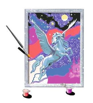 28641 Malen nach Zahlen Stolzer Pegasus von Ravensburger 3