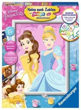 Belle & Cinderella Malen und Basteln;Malen nach Zahlen - Bild 1 - Ravensburger