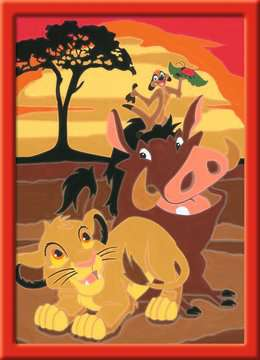 Numéro d art - petit - Disney Le Roi Lion Loisirs créatifs;Peinture - Numéro d'Art - Image 2 - Ravensburger