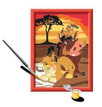 Numéro d art - petit - Disney Le Roi Lion Loisirs créatifs;Peinture - Numéro d Art - Image 3 - Ravensburger