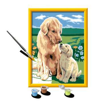 Numéro d art - moyen - Amour maternel Loisirs créatifs;Peinture - Numéro d'Art - Image 3 - Ravensburger