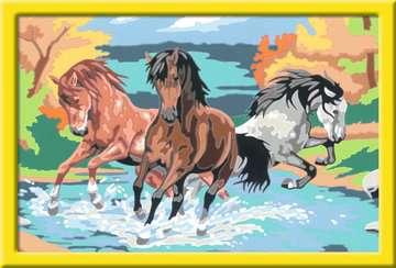 Numéro d art - grand - Horde de chevaux Loisirs créatifs;Peinture - Numéro d'Art - Image 2 - Ravensburger
