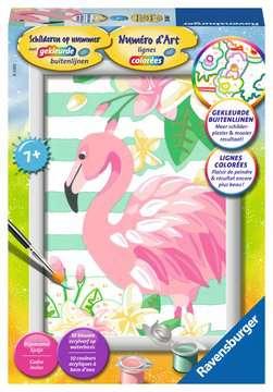 Flamingo Hobby;Schilderen op nummer - image 1 - Ravensburger