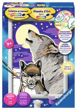 Loups Loisirs créatifs;Peinture - Numéro d art - Image 1 - Ravensburger