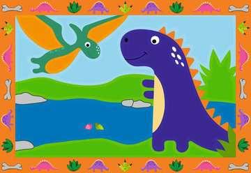 28694 Malen nach Zahlen Land der Dinosaurier von Ravensburger 2