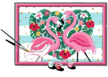 Numéro d art - grand - Flamingos amoureux Loisirs créatifs;Peinture - Numéro d Art - Image 3 - Ravensburger