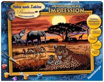 Afrikaanse impressie Hobby;Schilderen op nummer - image 1 - Ravensburger