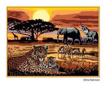 Afrikaanse impressie Hobby;Schilderen op nummer - image 2 - Ravensburger