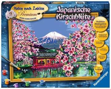 28841 Malen nach Zahlen Japanische Kirschblüte von Ravensburger 1
