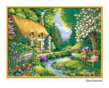 28843 Malen nach Zahlen Cottage Garden von Ravensburger 2