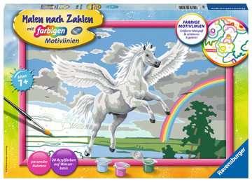 28900 Malen nach Zahlen Im Reich des Pegasus von Ravensburger 1