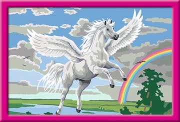 28900 Malen nach Zahlen Im Reich des Pegasus von Ravensburger 2