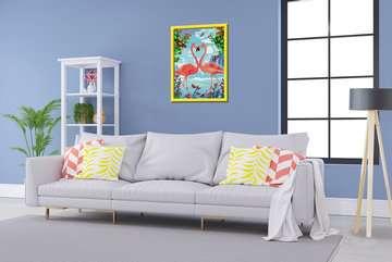 28901 Malen nach Zahlen Flamingo Love von Ravensburger 3