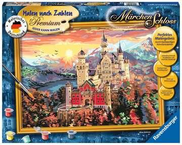 Märchenschloss Malen und Basteln;Malen nach Zahlen - Bild 1 - Ravensburger