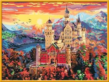 28902 Malen nach Zahlen Märchenschloss von Ravensburger 2