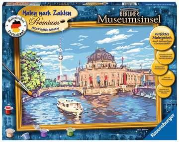 Berliner Museumsinsel Malen und Basteln;Malen nach Zahlen - Bild 1 - Ravensburger