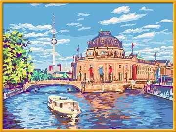Berliner Museumsinsel Malen und Basteln;Malen nach Zahlen - Bild 2 - Ravensburger