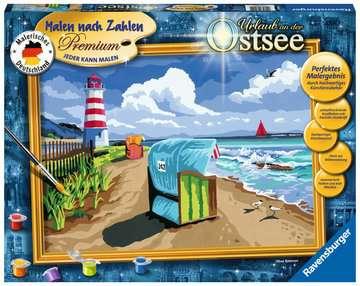 28904 Malen nach Zahlen Urlaub an der Ostsee von Ravensburger 1