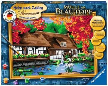 Watermolen Hobby;Schilderen op nummer - image 1 - Ravensburger