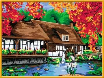 Watermolen Hobby;Schilderen op nummer - image 2 - Ravensburger