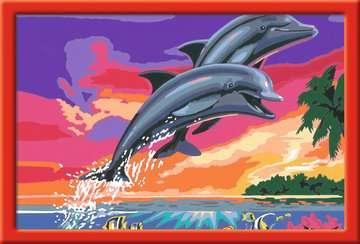 28907 Malen nach Zahlen Welt der Delfine von Ravensburger 2