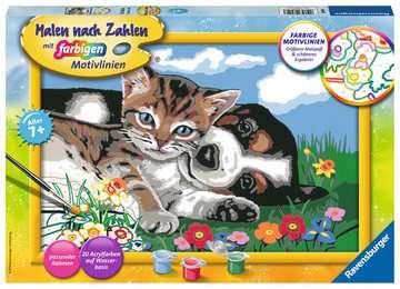 28910 Malen nach Zahlen Tierfreundschaft von Ravensburger 1