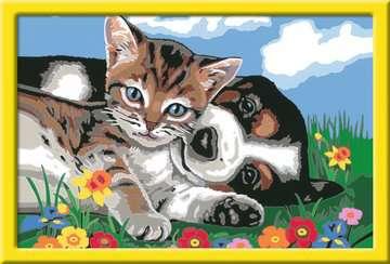 28910 Malen nach Zahlen Tierfreundschaft von Ravensburger 2