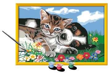28910 Malen nach Zahlen Tierfreundschaft von Ravensburger 3