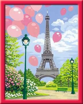 Frühling in Paris Malen und Basteln;Malen nach Zahlen - Bild 2 - Ravensburger