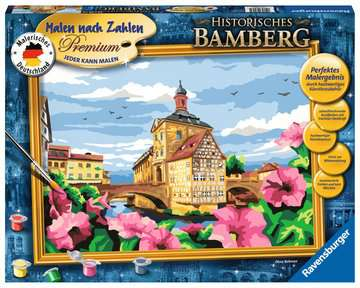 Historisches Bamberg Malen und Basteln;Malen nach Zahlen - Bild 1 - Ravensburger