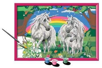 Numéro d art - grand - Au pays des licornes Loisirs créatifs;Peinture - Numéro d'Art - Image 3 - Ravensburger