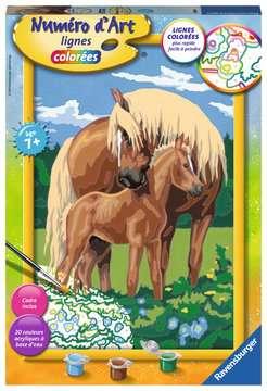 Numéro d art - grand - Fiers chevaux Loisirs créatifs;Peinture - Numéro d'Art - Image 1 - Ravensburger