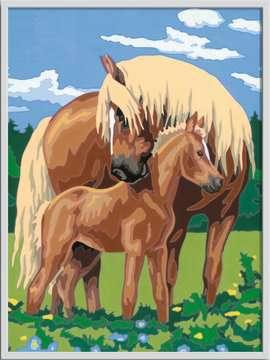 Numéro d art - grand - Fiers chevaux Loisirs créatifs;Peinture - Numéro d'Art - Image 2 - Ravensburger
