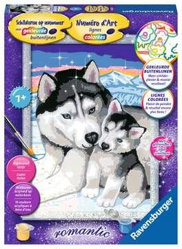Huskies Hobby;Schilderen op nummer - image 1 - Ravensburger